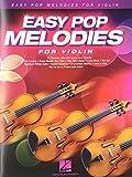 Easy Pop Melodies for Violin Vln BK/CD