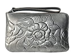 Patricia Nash Women\'s Capri Zip Pouch Clutch Wristlet Wallet Purse Bag