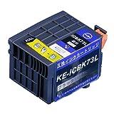 ICBK73L 互換 インクタンク ブラック 1本 増量版 【ICチップ付き】  対応機種:PX-K150「JAN:4582480213508」インクのチップスオリジナル