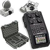 Zoom H6 Recorder & SKB 3i-1209-4-H6B Waterproof Broadcast Kit Hard Case - Bundle