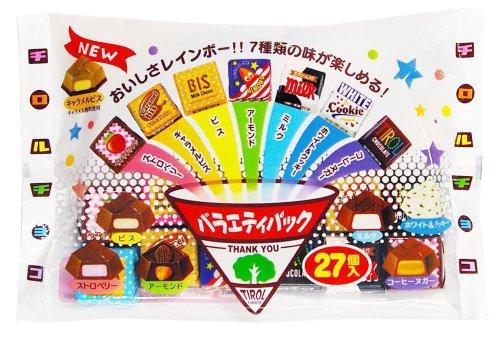 チロルチョコ チロルチョコ<バラエティパック> 27個×10個