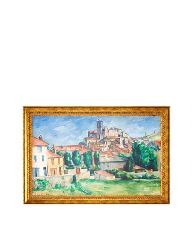 Paul Cézanne: Gardanne (Horizontal View) (Gardanne (vue horizontale)), 1885