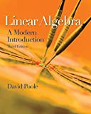 img - for Linear Algebra, A Modern Introduction, 3E book / textbook / text book