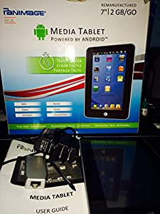 Panimage Media Tablet Powered By Android