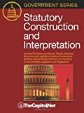 img - for Statutory Construction and Interpretation: General Principles and Recent Trends; Statutory Structure and Legislative Drafting Conventions; Drafting Fe book / textbook / text book