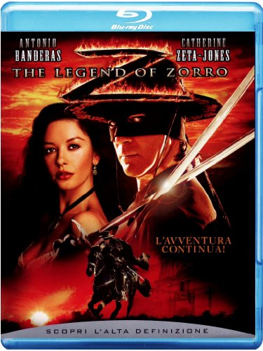 The legend of Zorro [Blu-ray] [IT Import]