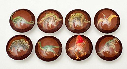 Set of 8 Brown Dinosaur Dresser Drawer Cabinet Knobs (Anthropologie Drawer Knobs compare prices)