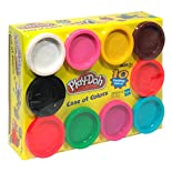 Play Doh Modeling Compound, Case of Colors, 10 - 20 oz (567g) modeling compound