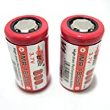 2 Efest 18350 IMR V1 Flat Top 800mAh 3.7v Battery Batteries