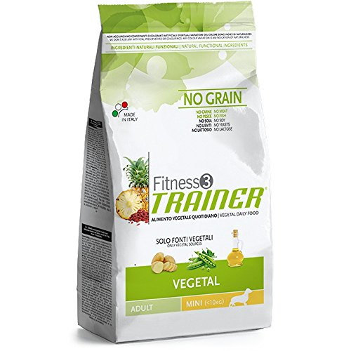 TRAINER Fitness 3 no grain mini vegetal patate piselli e olio 2kg