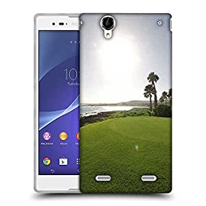 Snoogg Sunlight In Golf Park Designer Protective Phone Back Case Cover For Sony Xperia T2 Ultra