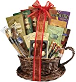 Broadway Basketeers Valentine's Day Coffee and Tea Gift Basket