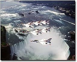 USAF Thunderbirds Niagara Falls 8x10 Silver Halide Photo Print