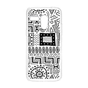 a AND b Designer Printed Mobile Back Cover / Back Case For Motorola Moto G (Moto_G_2327)