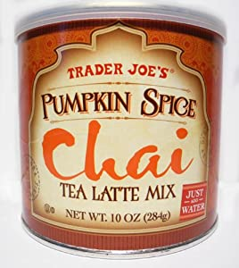 Trader Joes Pumpkin Spice Chai Tea Latte Mix