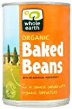 Whole Earth Organic Baked Beans 400 g (Pack of 12)