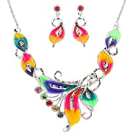 Yazilind Colorful Crystal Phoenix Lea…