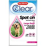 Bob Martin Flea Clear Fipronil Spot on 3 Tube for Large Dog