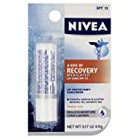 Nivea Lip Protectant/Sunscreen, Medicated, SPF 15, 0.17 oz (4.8 g)