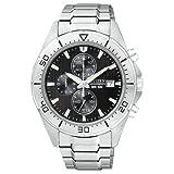 Citizen Quartz Sports Chronograph Black Dial Men's Watch – AN3460-56E