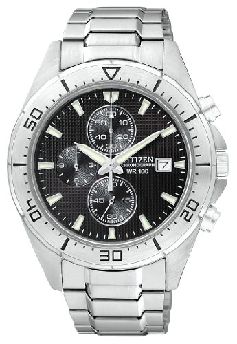 Citizen Men's AN3460-56E Analog Display Japanese Quartz Silver Watch