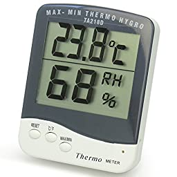 Refaxi®Portable Room Digital C/F Thermometer Temperature Humidity Hygrometer Meter New