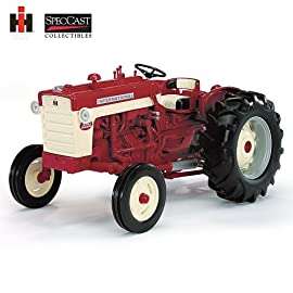 Farmall 340 With 211 2-Bottom Plow Diecast by The Hamilton Collection
