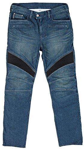 Joe Rocket Accelerator Jean Mens Blue Denim Motorcycle Pants - 34