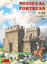 プラモデル 1/72 中世の要塞