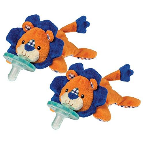Wubbanub Pacifier, Levi Lion - 2 Count