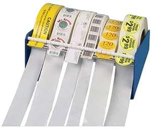 """de metal durable de distribuidor de etiquetas, de 6-1 / 2 """"Ancho"""