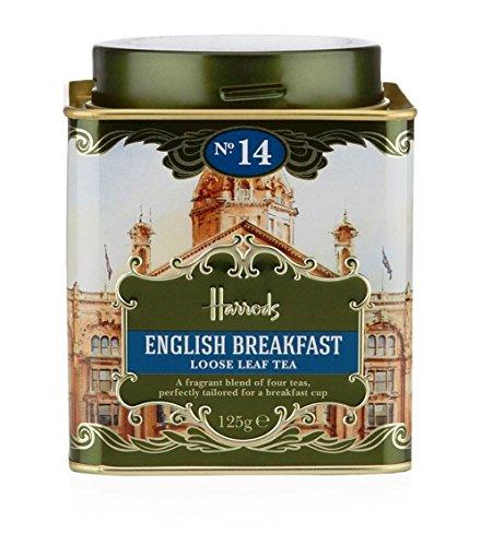 英国 Harrods (ハロッズ) No.14 イングリッシュブレックファスト 紅茶 リーフ125g缶 [並行輸入品]