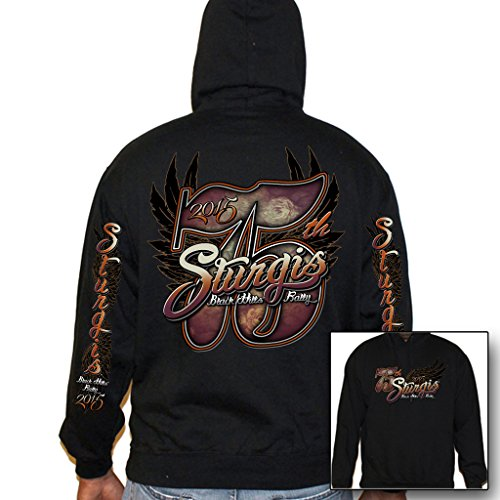 Biker Life USA Women's 2015 Sturgis Big 75th Pullover Hoodie