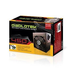 Diablotek 450-Watt ATX Power Supply PHD450