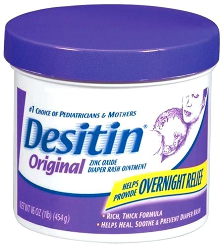 Desitin Diaper Rash Ointment - 16 Oz. (Pack Of 2)