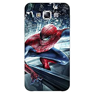Jugaaduu Superheroes Spiderman Back Cover Case For Samsung Galaxy E7