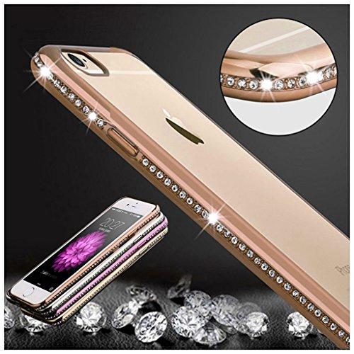 FBA-KrygerShield® Diamond iPhone 6s Plus 6 Plus Gel Case - Gold