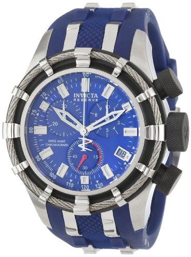 Invicta Men s 6433 Reserve Collection Chronograph Blue ...