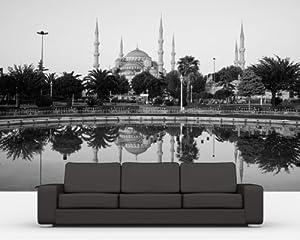 bilderdepot24 selbstklebende fototapete sultan ahmet. Black Bedroom Furniture Sets. Home Design Ideas