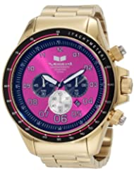 Vestal Men's ZR3016 ZR-3 Gold and Purple Chronograph Watch