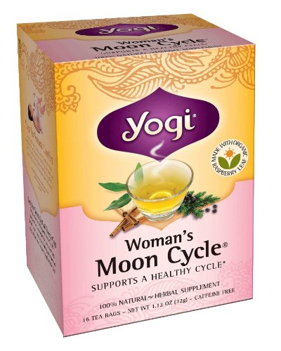 Yogi Woman'S Moon Cycle Tea, 16 Tea Bags (Pack Of 6)
