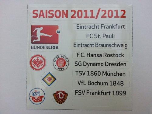 Am Ball Com DFL Up-Date-Set 2 Bundesliga 2011-2012