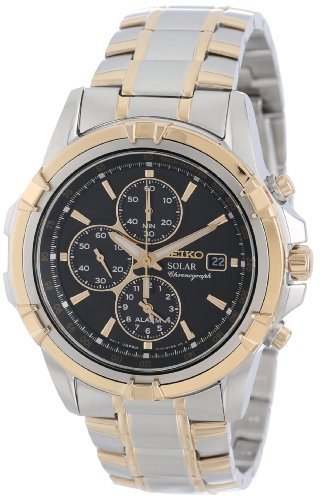 Seiko Men's SSC142 Chronograph Solar Dress Sports Japanese Quartz Watch