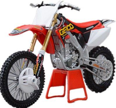 Honda CRF250R / 450R 2009 / 450R 2012 /CRF450R N.3 / moto en alliage modele de jouets Vehicule Miniature Echelle 1/12 (CRF250R)