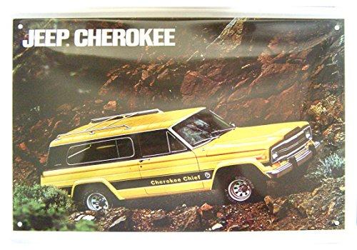 Jeep-CHEROKEE-dcoratif-Motif-plaque-de-rplique
