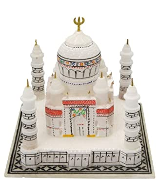 Hand Carved Taj Mahal Replica Statue, India