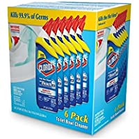6-Pack Clorox Toilet Bowl Cleaner with Bleach 24 oz