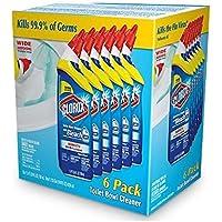 6-Pack Clorox Toilet Bowl Cleaner w/Bleach