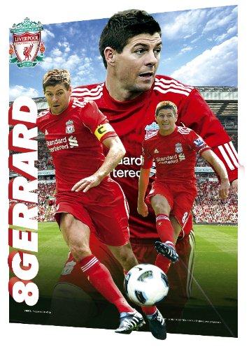 Liverpool FC Steven Gerrard A3 3D Poster Lenticular