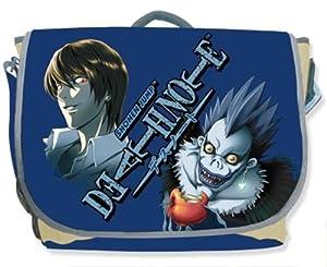 Death Note Light & Ryuk in Blue Messenger Bag (Bags)